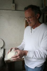 Tom with Clay - Sylvia Hyman Ashes